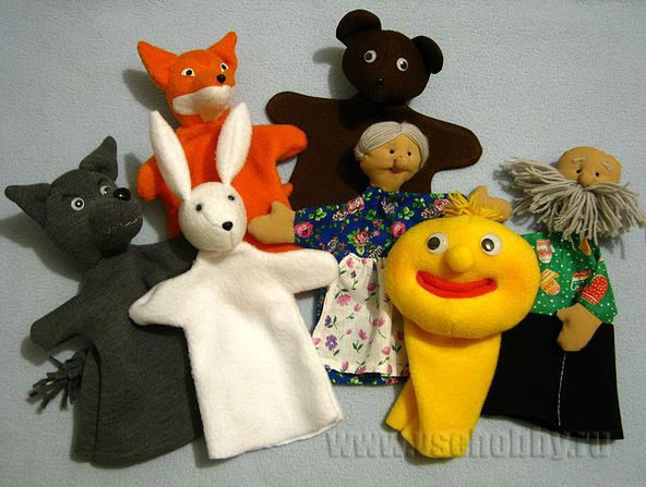 Кукольный театр шить своими руками