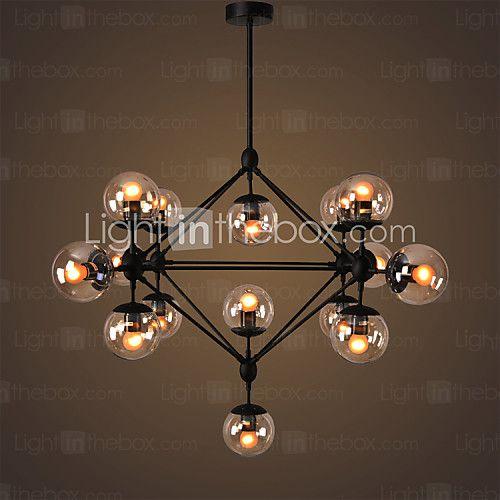 Rétro Cristal Lustre Lumière du0027ambiance Pour Salle de séjour Chambre - lustre pour salle a manger