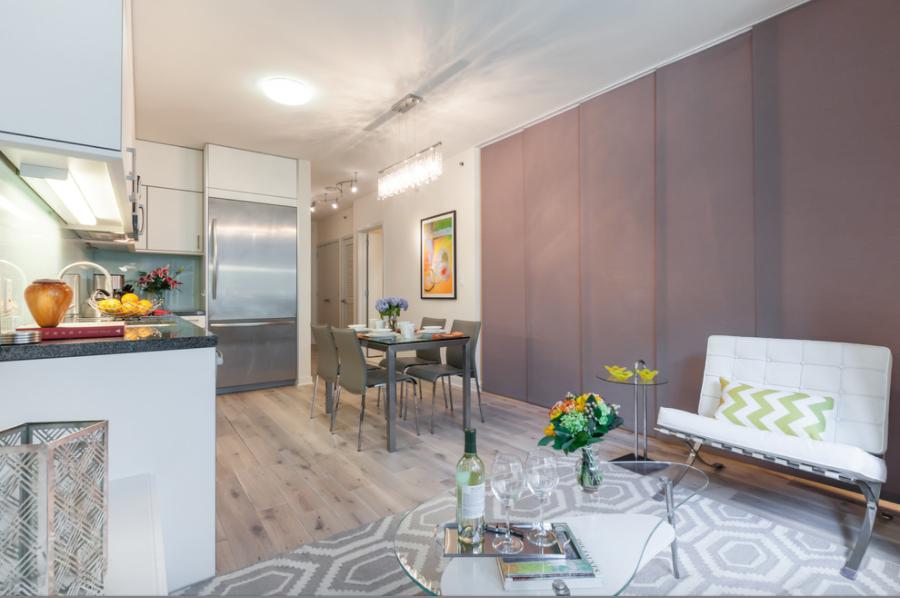Vertical Blinds As A Room Divider By Lauren King Interior Design