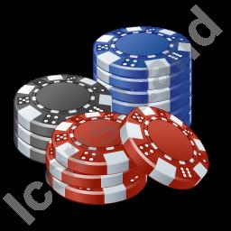 Casino Chips Icon Png Ico Icons 256x256 128x128 64x64 48x48 32x32 24x24 16x16 Cassino Ilustracoes Jogos
