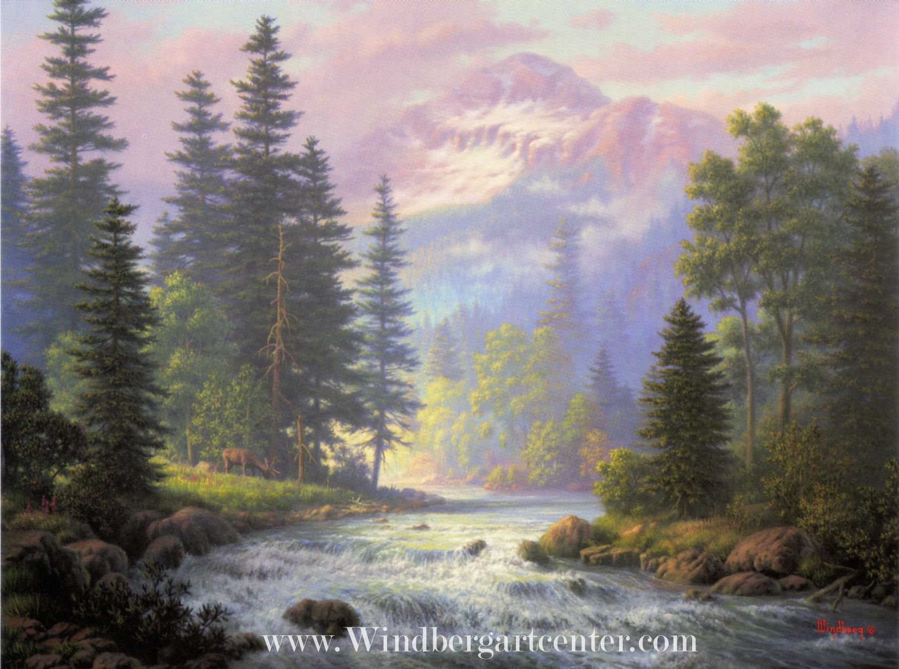 Music Of Highlands Dalhart Windberg Art 3 Prints