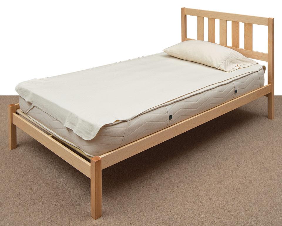 Natural Wood Bed Frames Mattress Organic Mattresses Mattress