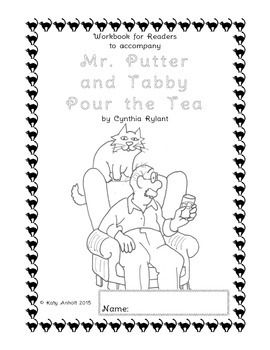 Workbooks For Readers Mr Putter And Tabby Pour The Tea Workbook Easy Chapter Books Tabby