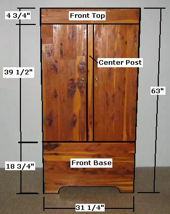 Great Free Armoire Wardrobe Closet Plans   How To Build A Wardrobe Armoire Closet