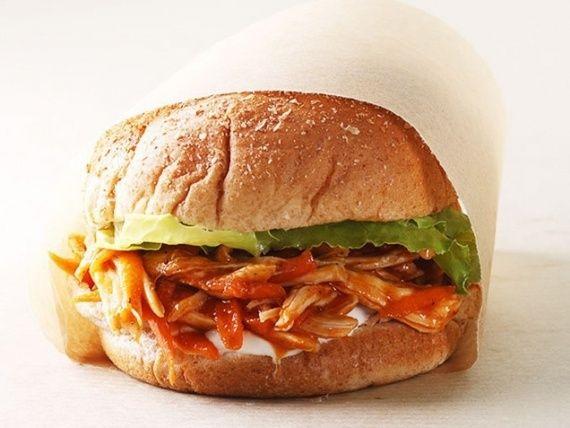 Easy Rotisserie Chicken Recipes   iVillage.ca.. BBQ chicken sandwich