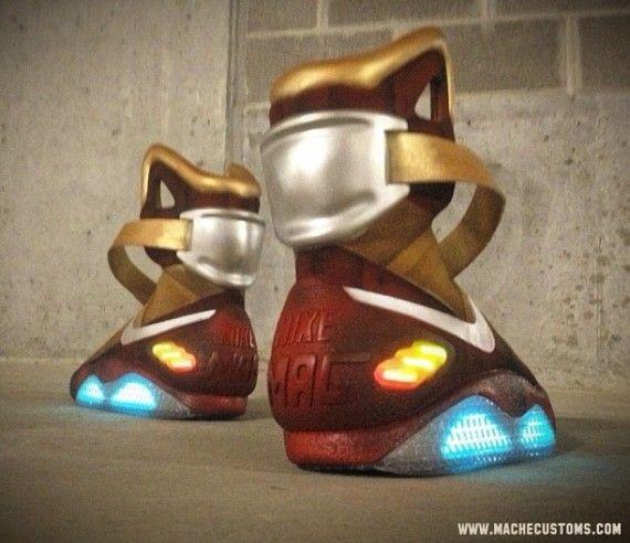 """Nike Air Mag """"Ironman"""" Custom  f96a31b53"""