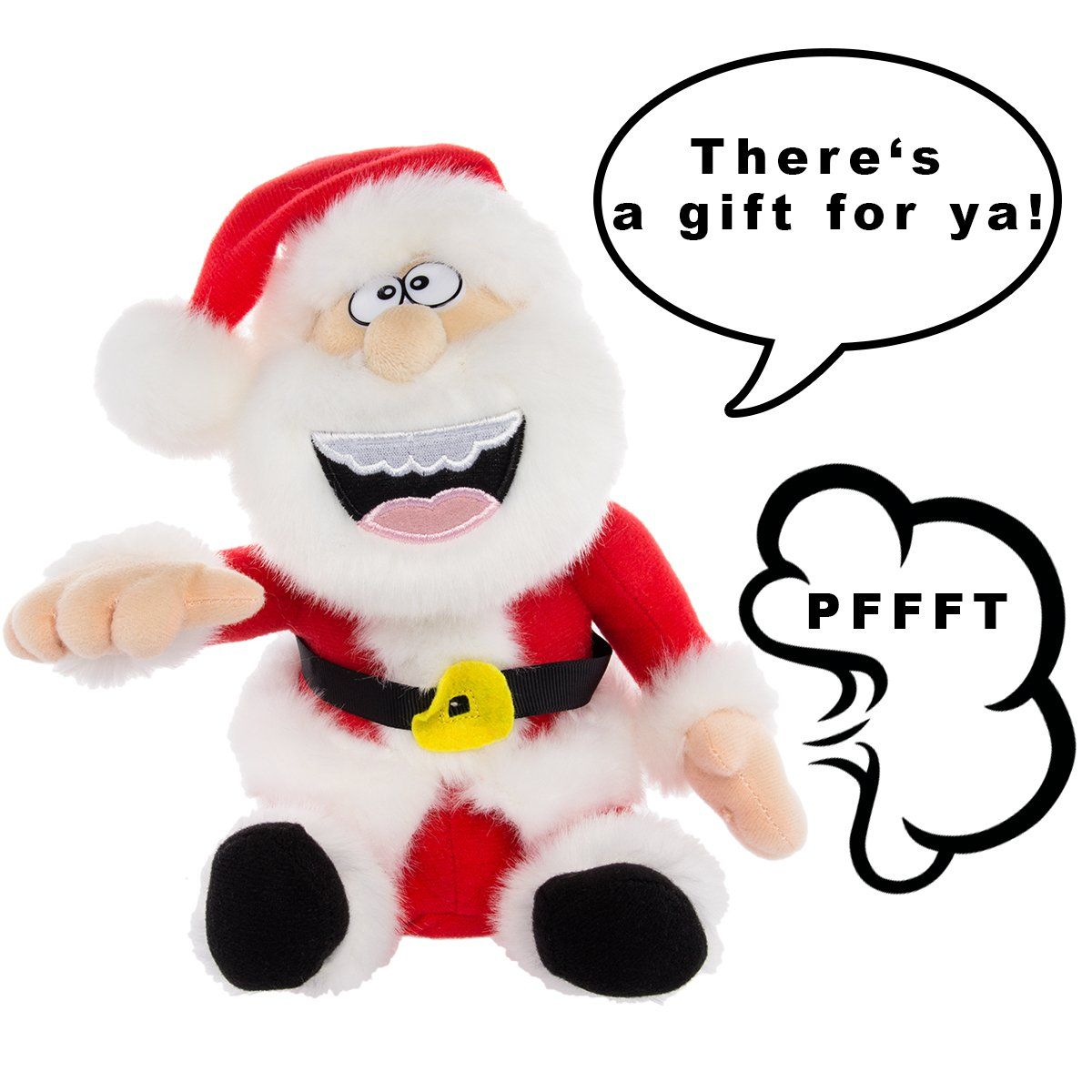 Simply Genius Pull My Finger Santa Animated Funny Farting