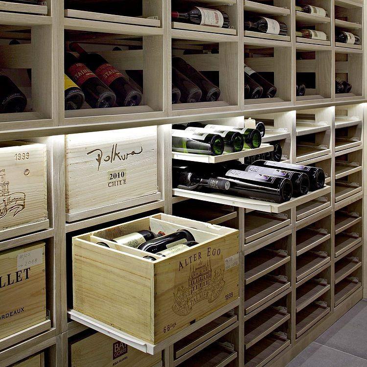Mueble para vinos donado vineria pinterest mueble para vino vinoteca y cava vino - Muebles para bodega ...
