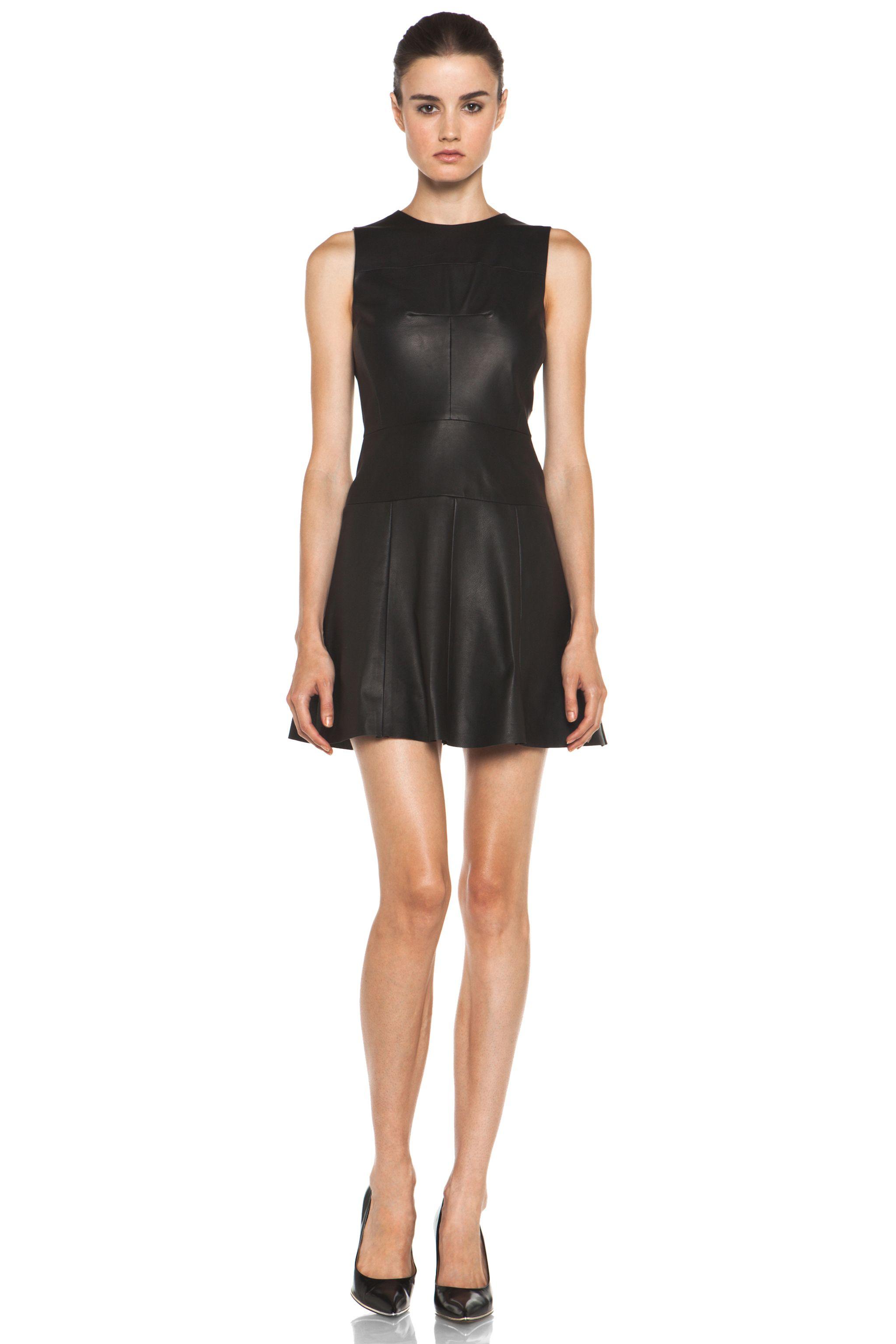 A.L.C. Leather Dress