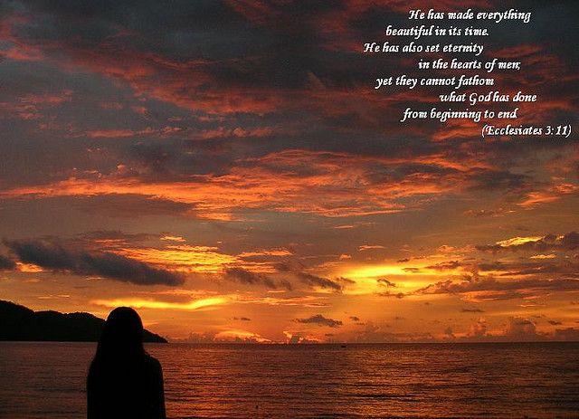 Ecclesiastes 3:11 | Ecclesiastes 3:11 | Flickr - Photo Sharing!