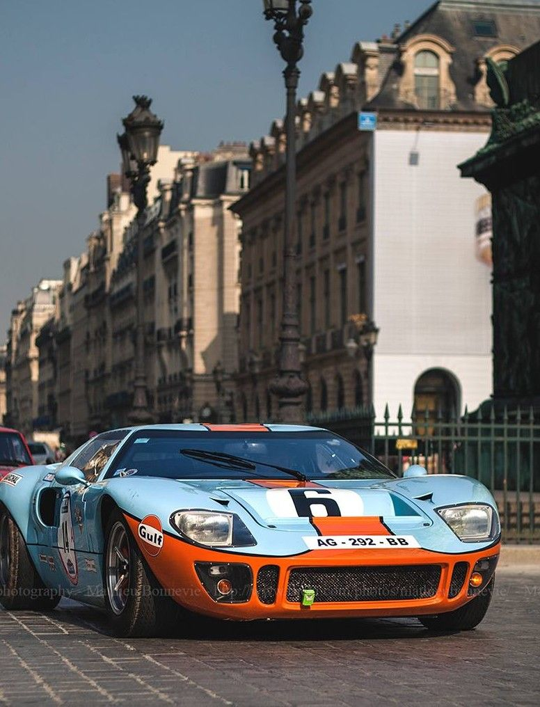 Ford GT40. About to zip around the european sunset real quick is all.