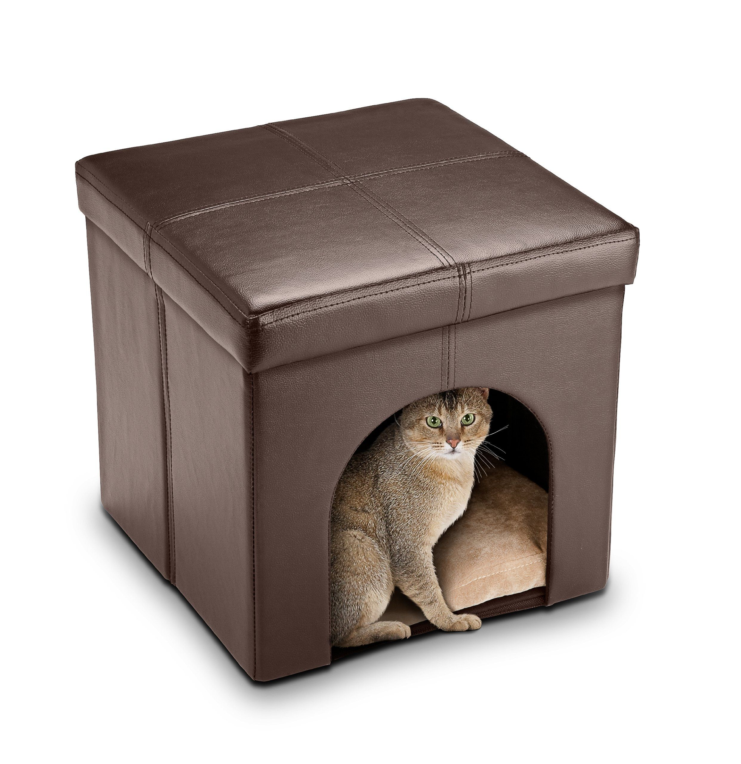 Abc Pet Cat Ottoman Bed Cat Bed Pet Bed Furniture Cat Bed Furniture