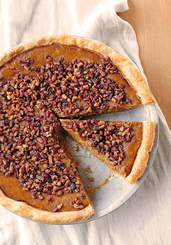 Pumpkin Pie with Toasted Pecan Praline Topping | Recipe ...