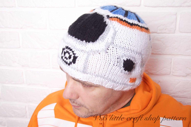 "Star Wars ""The Force awakens"" BB-8 hat knitting pattern. Instant PDF ..."