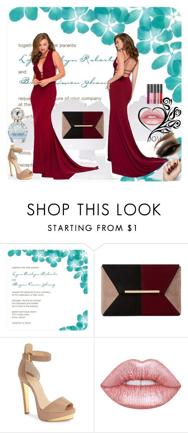 """""""Bsr&D"""" by begicdamir ❤ liked on Polyvore featuring Dune, Christian Louboutin, Lime Crime and Marc Jacobs"""