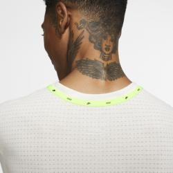 Photo of Nike Langarm-Laufoberteil für Herren – Cream NikeNike
