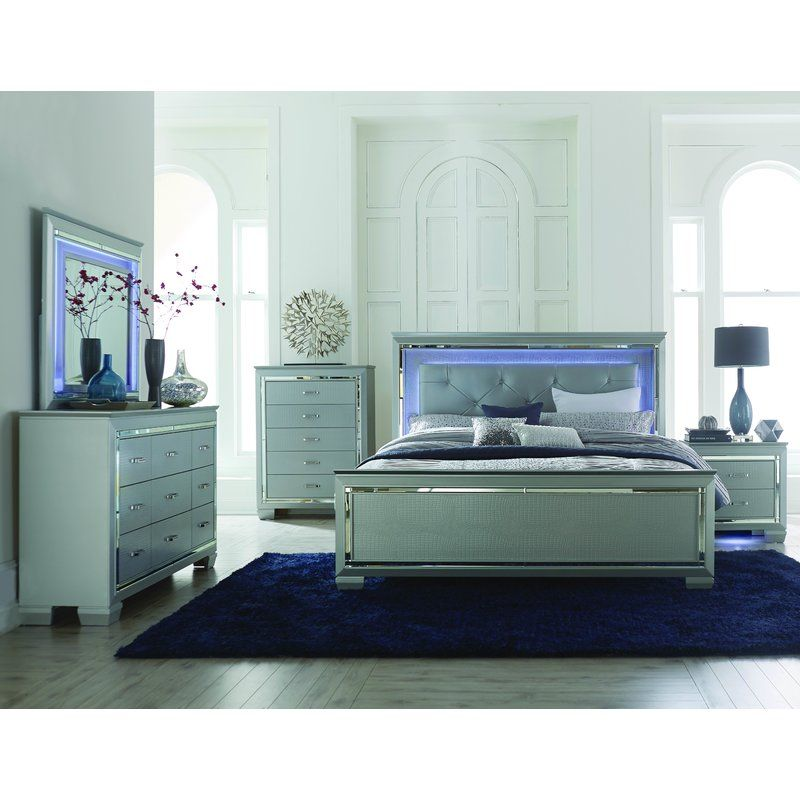 Homelegance Allura Panel Customizable Bedroom Set Reviews Wayfair
