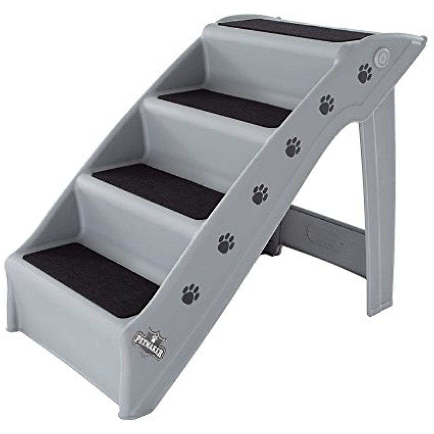 Petmaker 80 Pet6017 The Folding Plastic Pet Stairs Read More At The Image Link This Is An Affiliate Link Cats Pet Stairs Steps Design Dog Steps