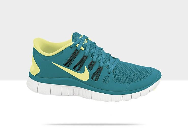 promo code cdce7 cca69 Nike Free 5.0+ Zapatillas de running - mujer Verde Azulado Tropical  Sonic  Amarillo  Negro  Blanco.It is very modern shoes and good quality.