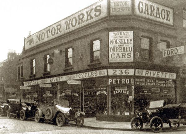Rivetts Of Leytonstone Ltd Situated At 234 6 8 High Road
