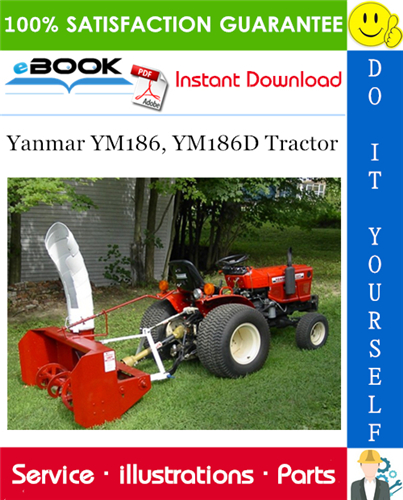 Yanmar Ym186 Ym186d Tractor Parts Manual Tractors Tractor Parts Generator Repair