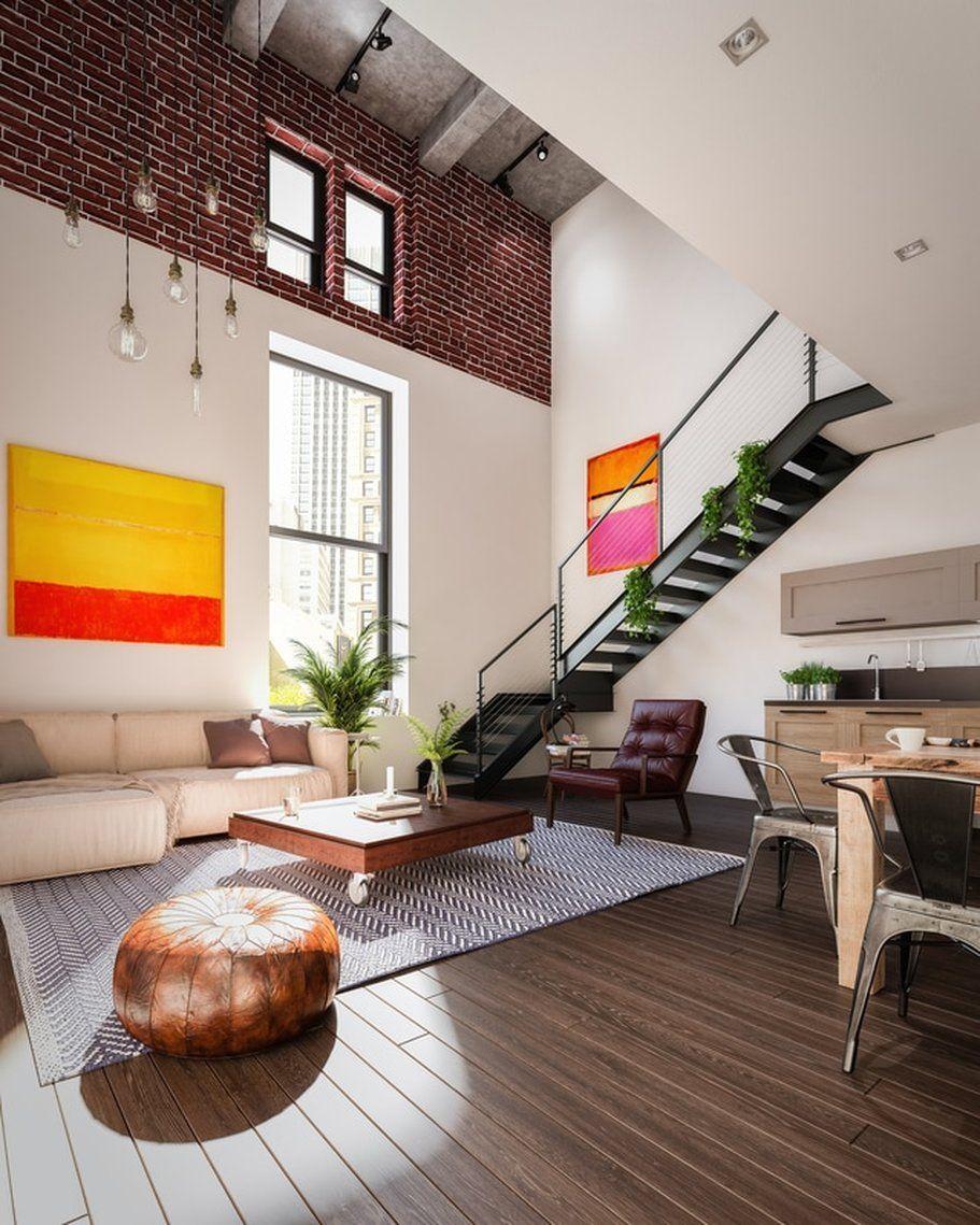 Picture Loft style apartments, Apartment interior, Apartment