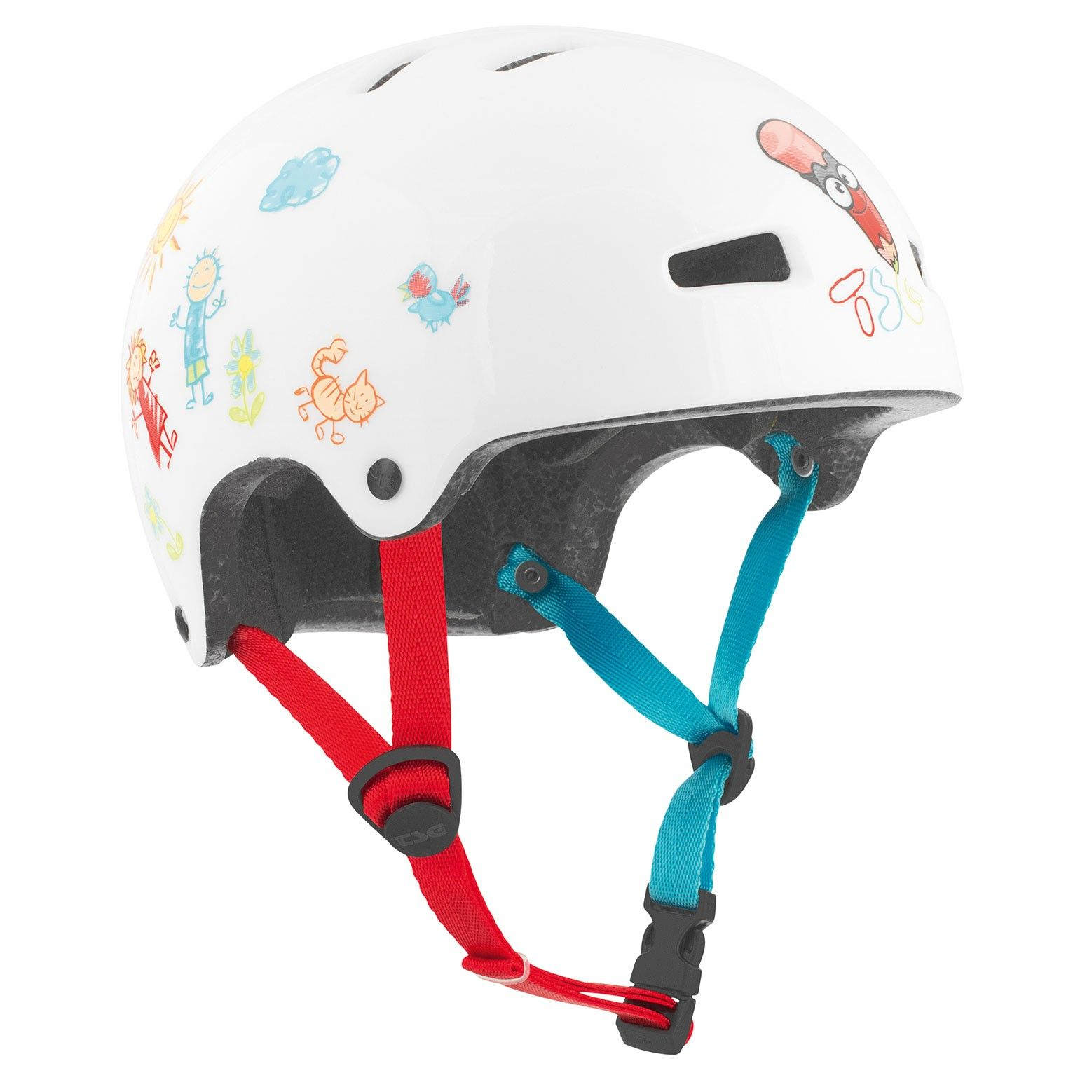 TSG Kinderhelm Fahrradhelm Skateboardhelm Nipper Mini Maxi Graphic Design