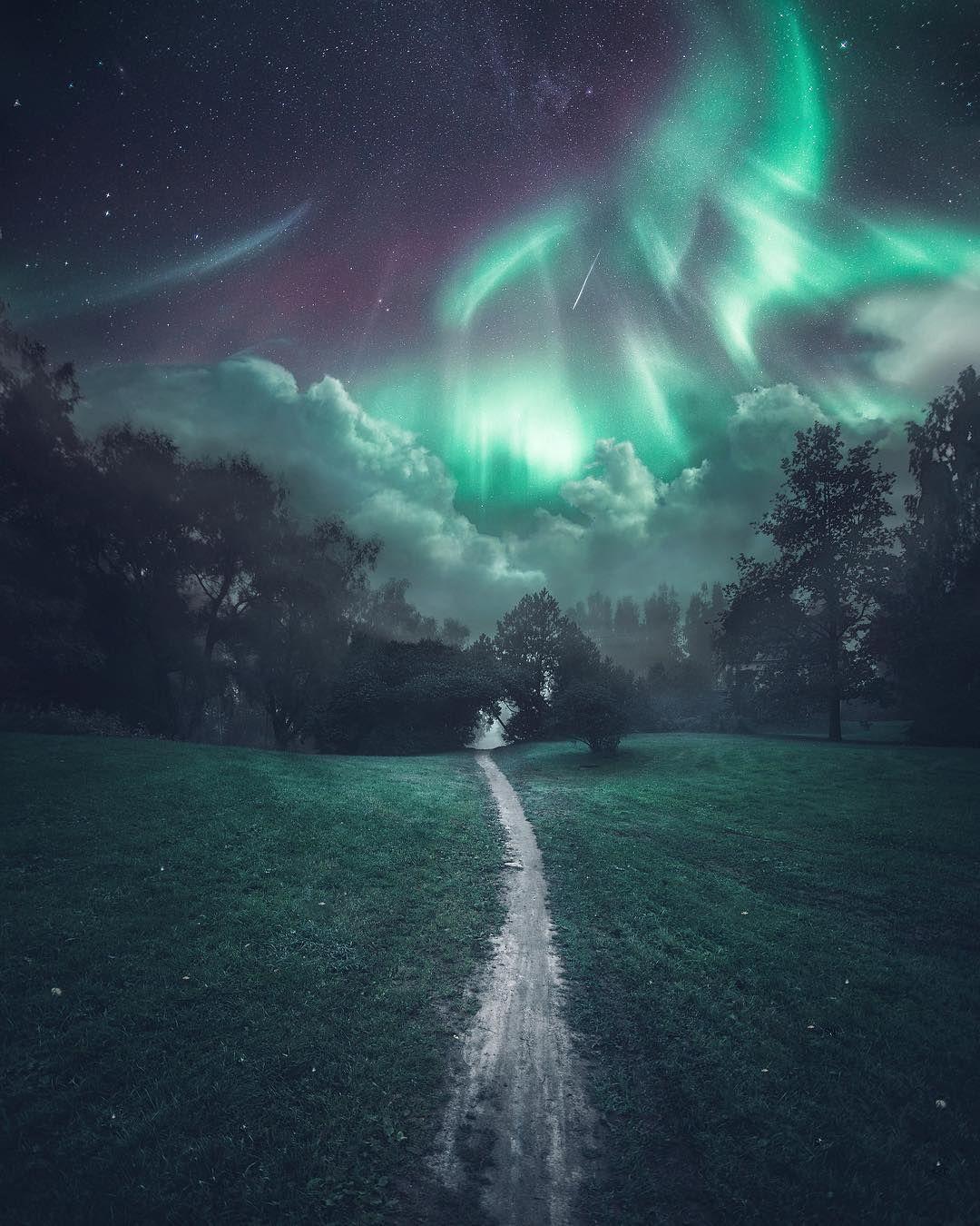 "29.9 tis. To se mi líbí, 367 komentářů – Juuso Hämäläinen (@juusohd) na Instagramu: ""northern lights in southern finland ✨"""