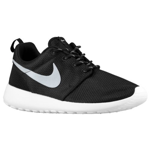 7849c5fcd13a Nike Roshe One - Women s - Running - Shoes - Black Silver White ...