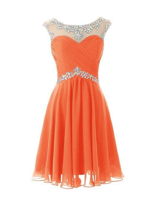 Orange Dress for Juniors
