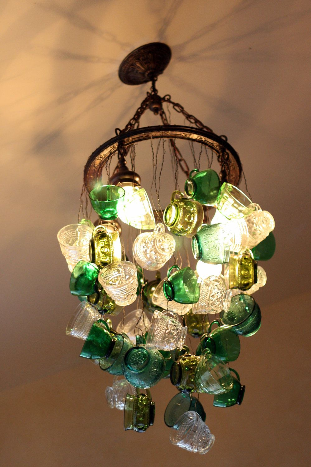 Show stopper glowing punch cup chandelier amazing show stopper glowing punch cup chandelier arubaitofo Choice Image