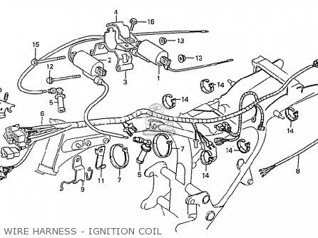 honda cx500c custom 1981 b european direct sales wire harness rh pinterest com