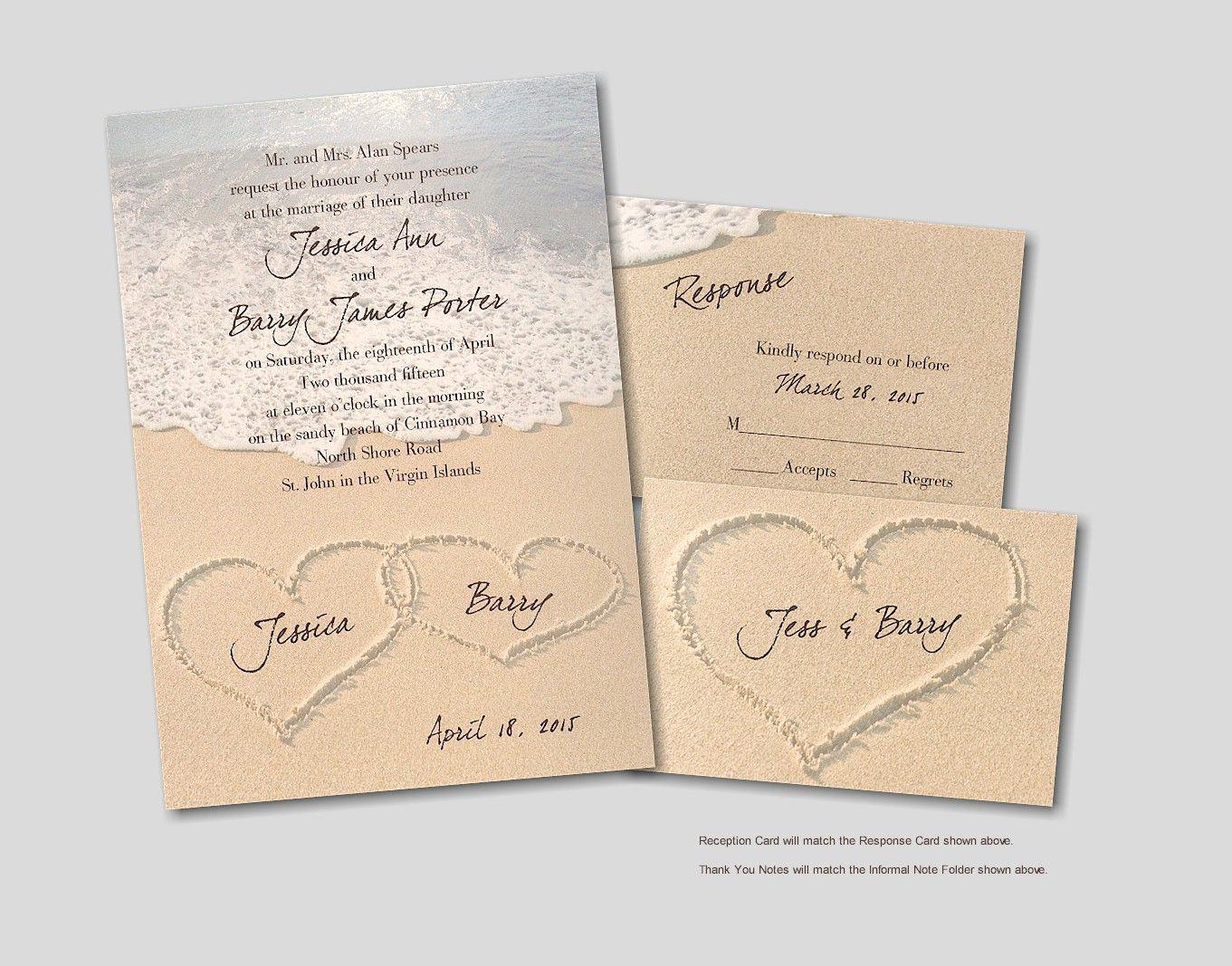 luau wedding invitation templates%0A Beach wedding invitations