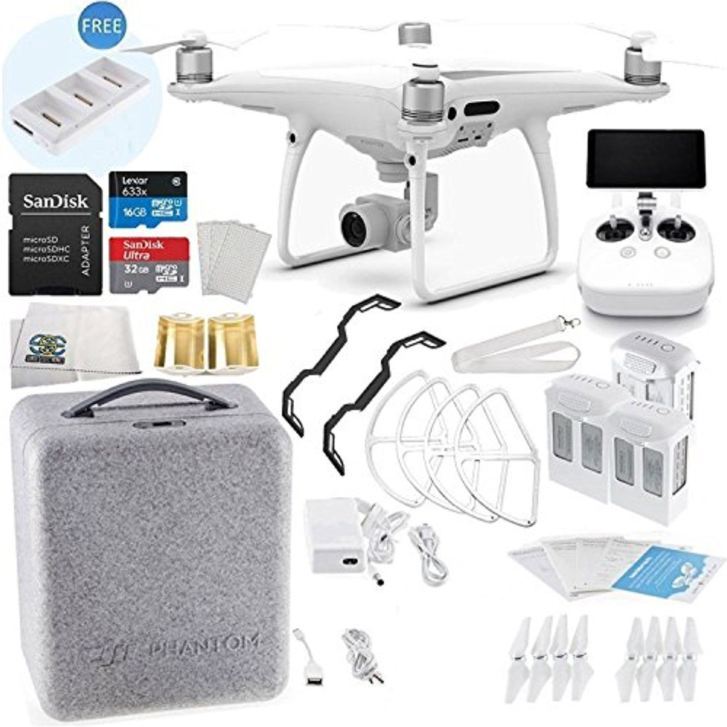 Dji Phantom 4 Pro Plus Quadcopter Ultimate Flyer Bundle Kit Details Can Be Found By Clicking On The Image This Is An Dji Phantom 4 Quadcopter Dji Phantom