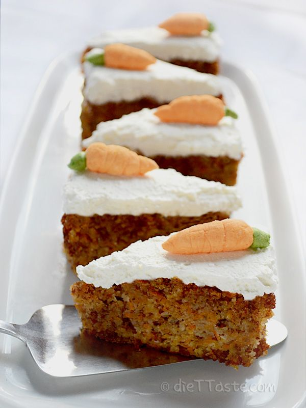 Super-Moist Diabetic Spiced Carrot Cake Recipe - Genius ...