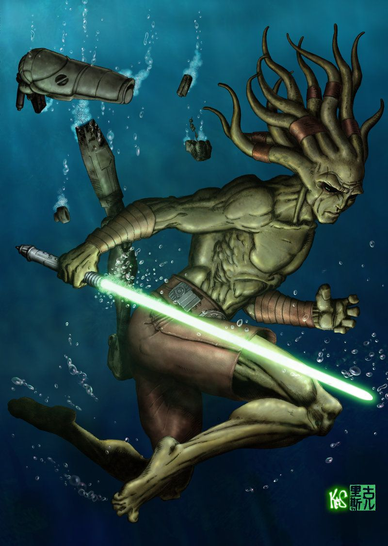 kit fisto - fastfood.deviantart | star wars | pinterest | star