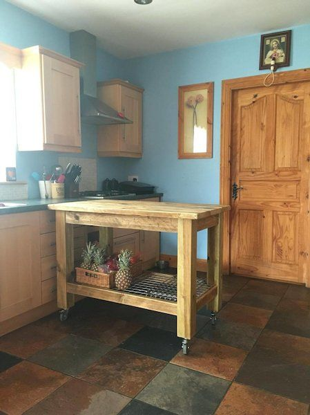 handmade kitchen islands staten island cabinets for sale in cork on scaffold board donedeal ie