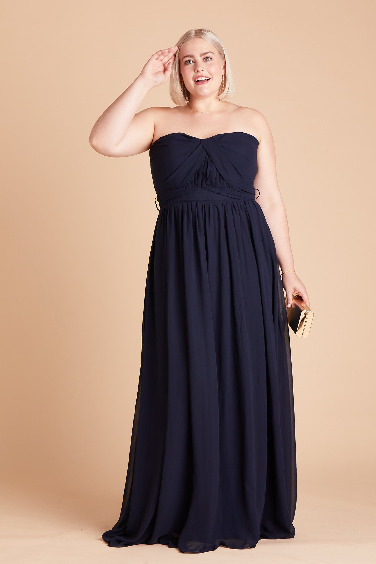 Grace convertible dress curve navy in 2020 bridesmaid