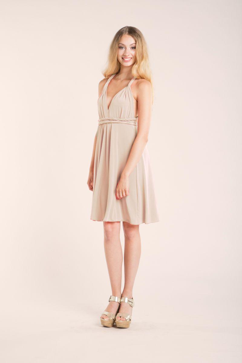 Our gala essential long convertible dress is a versatile dress