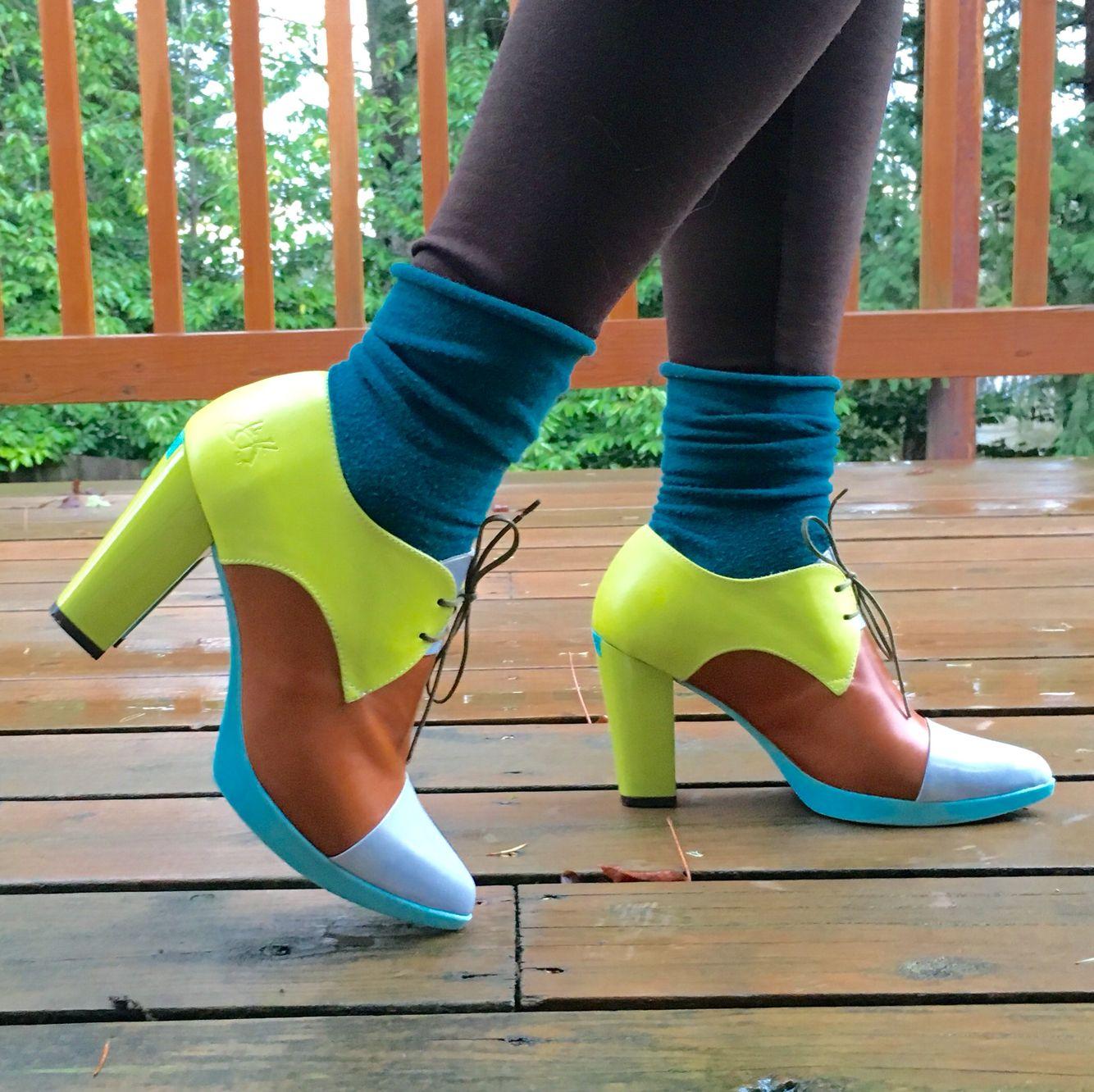 John Fluevog sample sale shoes