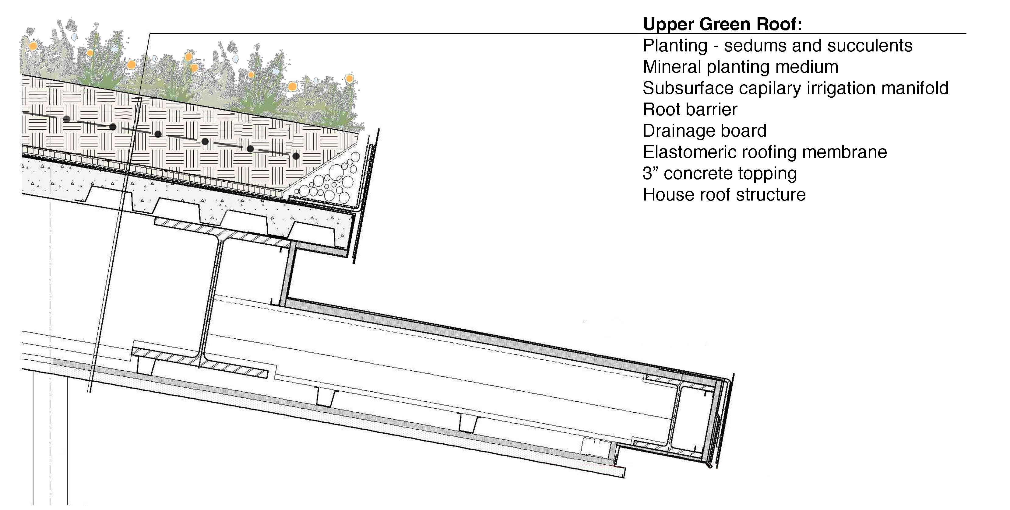 Image Result For Living Roof Construction Section Drawing