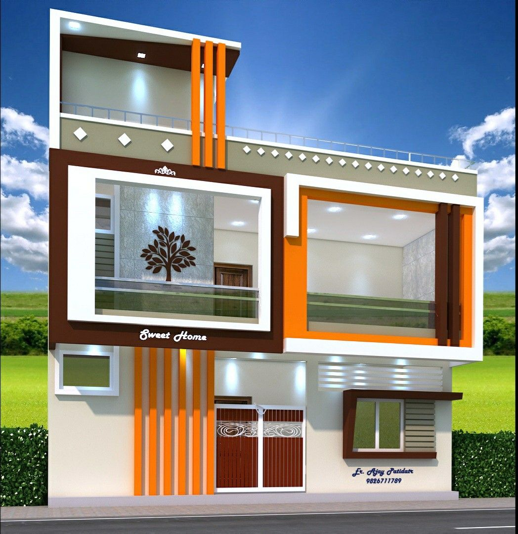 50++ Front look of small house ideas