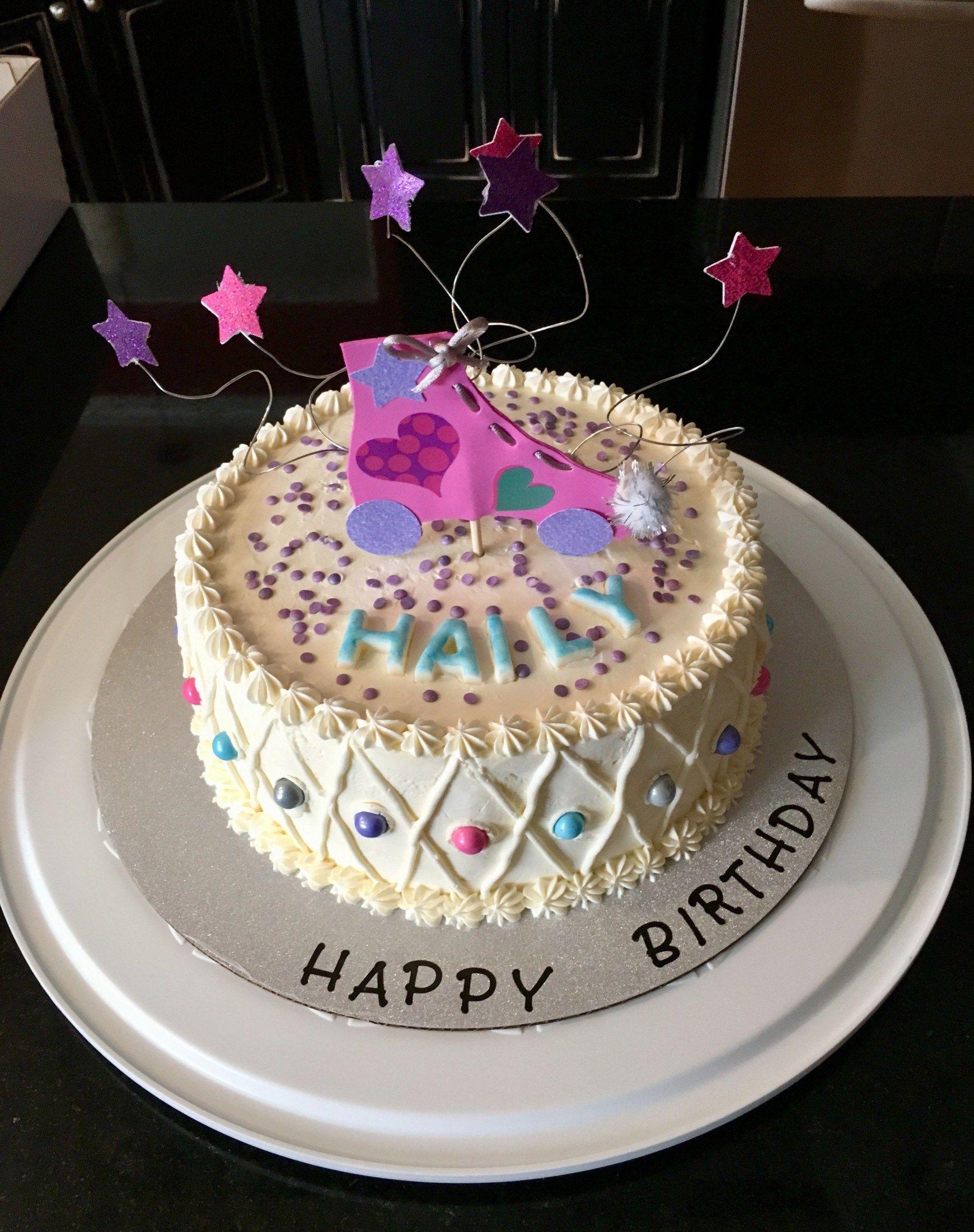 27+ Inspiration Photo of Roller Skate Birthday Cake 50th