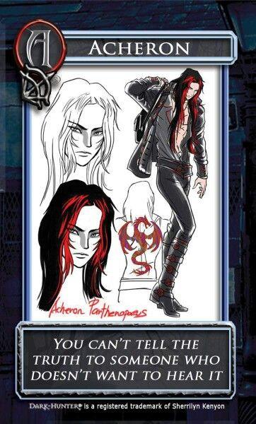 Acheron Manga Graphic Novel Art Dark Hunter Dark Hunter Dark