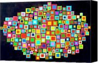 Swarm Of Squares On A Sunday Afternoon Artist::Rosemary Pierce