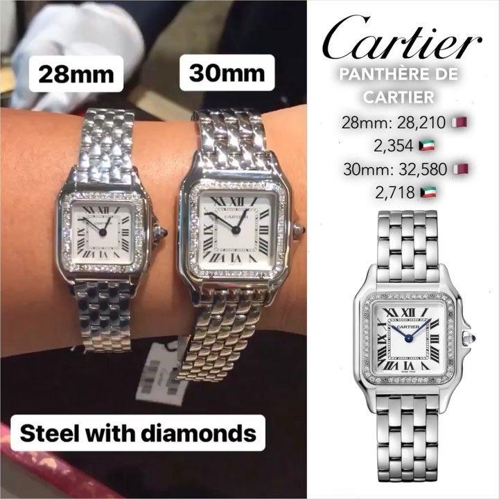 Cartier Watch Silver Watch Cartier Watch Watches