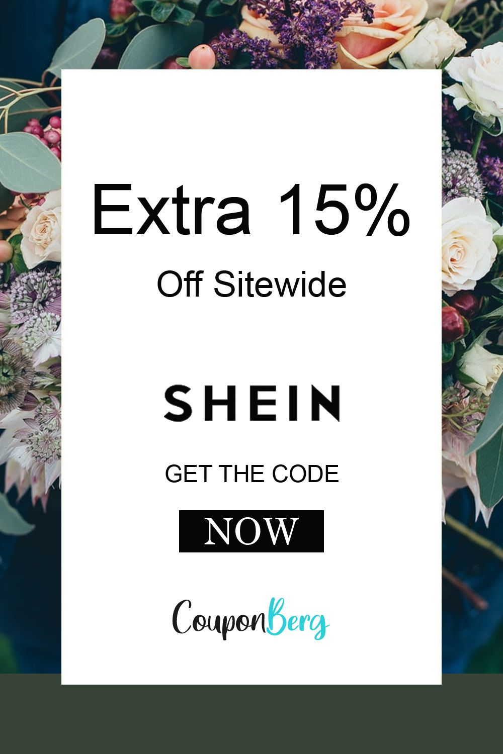 Extra 15 Off Sitewide In 2020 Free Coupon Codes Coding Shein