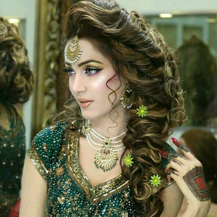 Hairstyles Pakistani Mehndi: Pakistani, Ethnic And