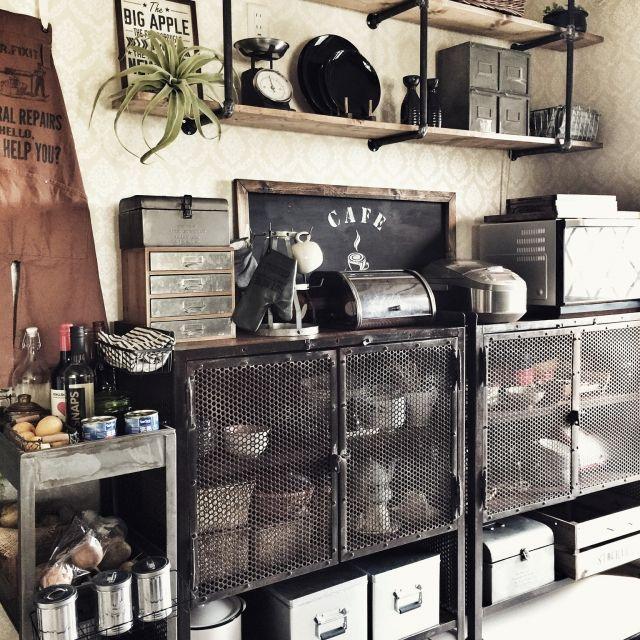 キッチン ブルックリンスタイル 男前 インダストリアル ブログ更新しま