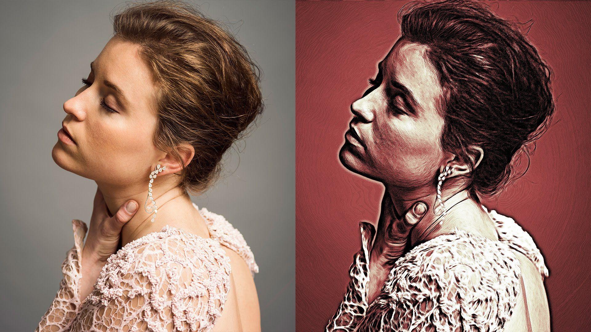 Art Paint Effect In Photoshop Oil Paint Effect Oil Paint Effect Photoshop Paint Effects